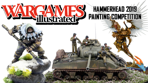 Wargames Illustrated Painting Competition 2019