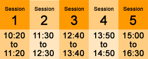 Session times